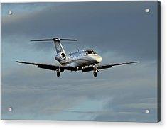 Cessna Citation 525b Acrylic Print by James David Phenicie