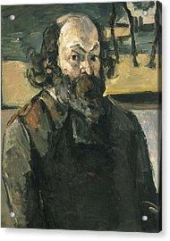 Cezanne, Paul 1839-1906. Self Portrait Acrylic Print