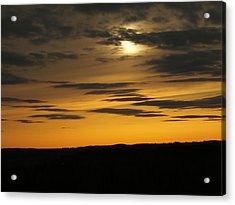 Acrylic Print featuring the photograph Changing Sky by Gene Cyr