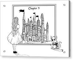 Chapter Nine Acrylic Print