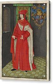 Charles The Bold Acrylic Print
