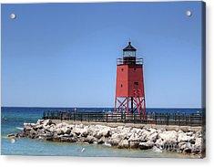 Charlevoix Lighthouse Acrylic Print
