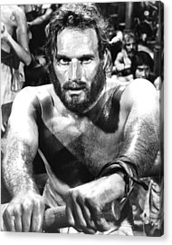 Charlton Heston In Ben-hur  Acrylic Print by Silver Screen