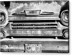 Chevrolet 31 Apache Pickup Truck Emblem Acrylic Print