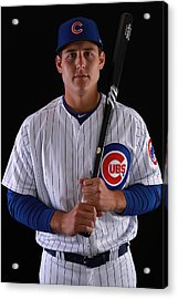 Chicago Cubs Photo Day Acrylic Print by Gregory Shamus