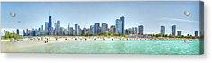 Chicago North Avenue Beach Acrylic Print by Patrick  Warneka