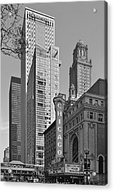 Chicago Theatre - This Theater Exudes Class Acrylic Print