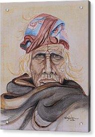 Chief Si Wa Wata Wa Acrylic Print