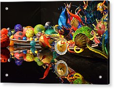 Chihuly-14 Acrylic Print by Dean Ferreira