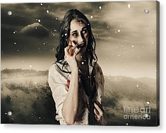 Chill Of Death In Mourning Acrylic Print by Jorgo Photography - Wall Art Gallery