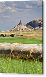 Chimney Rock Acrylic Print by Jim West