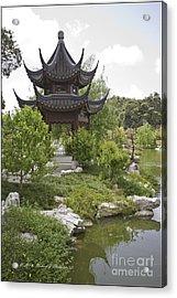 Chinese Water Garden Acrylic Print
