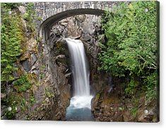 Christine Falls Mount Rainier National Park Acrylic Print