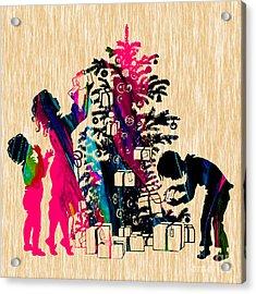 Christmas Acrylic Print by Marvin Blaine