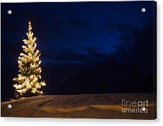 Christmastree Acrylic Print