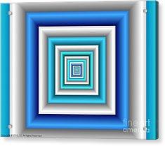 Chromodynamic 3 Acrylic Print