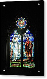Church Of The Covenant Stained Glass 11 Acrylic Print