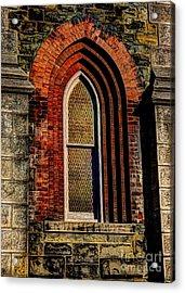 Churches On Church Street Acrylic Print