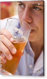 Cider Decider Acrylic Print