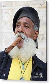 Cigar Man Acrylic Print