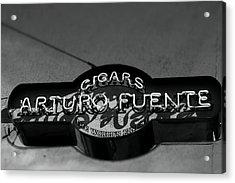 Cigars Acrylic Print by Christopher Jones