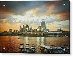 Cincinnati Ohio IIi Acrylic Print