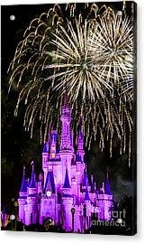 Magic Kingdom Cinderella Castle Acrylic Print