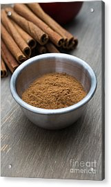 Cinnamon Spice Acrylic Print by Edward Fielding