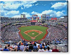 Citi Field 2 - Home Of The N Y Mets Acrylic Print