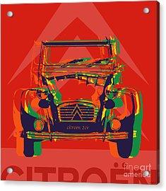 Citroen 2cv Acrylic Print