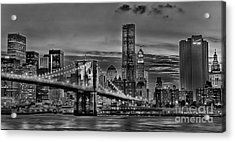 City Of Lights Acrylic Print by Arnie Goldstein