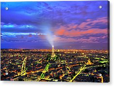 City Of Lights Acrylic Print by Midori Chan