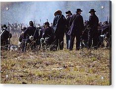 Civil War Acrylic Print by Kitty Ellis