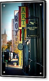 Clarksville Acrylic Print by Shannon Wall