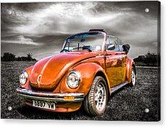 Classic Vw Beetle Acrylic Print