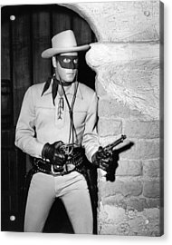 Clayton Moore In The Lone Ranger  Acrylic Print