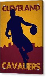 Cleveland Cavaliers Lebron James Acrylic Print