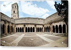 Cloister Of St. Trophime, Church Of St Acrylic Print