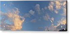 Clouds Acrylic Print by Larry Darnell