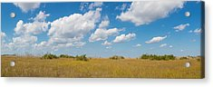 Clouds Over Everglades National Park Acrylic Print