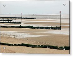 Coastal Defences Acrylic Print by Colin Cuthbert/science Photo Library