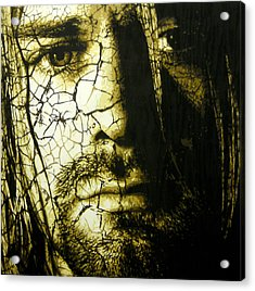 Cobain - You Know You're Right  Acrylic Print by Bobby Zeik