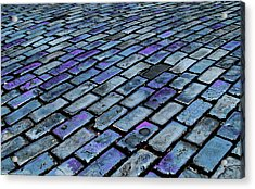 Cobblestones From Ship's Ballast Or Acrylic Print by Miva Stock
