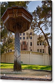 Acrylic Print featuring the photograph Cochise County Courthouse by Beverly Parks