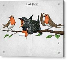 Cock Robin Acrylic Print