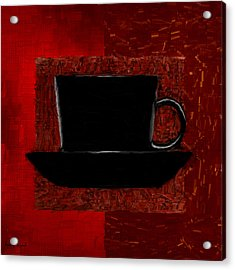Coffee Passion Acrylic Print by Lourry Legarde