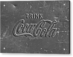 Coke Sign Acrylic Print by Jill Reger
