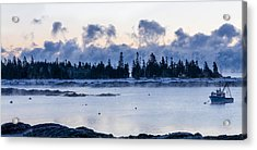 Cold Day Down East Maine Acrylic Print