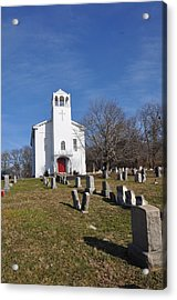Cold Point Baptist Church Acrylic Print by Bill Cannon
