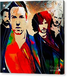 Coldplay Collection Acrylic Print